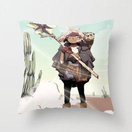 Desert Rose Witchsona Throw Pillow