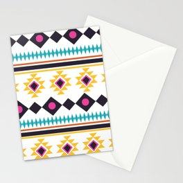 Aztec Fun Colorful Abstract Mix Stationery Cards