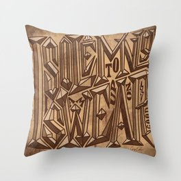 I Solemnly Swear I Am Up To No Good Throw Pillow