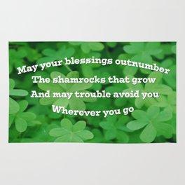 Irish Blessing Rug