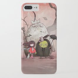 garbage emperor iPhone Case