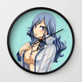 Gray clothes Wall Clock