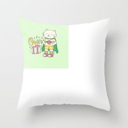 Own It Throw Pillow