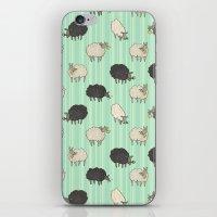 sheep iPhone & iPod Skins featuring Sheep by sheena hisiro