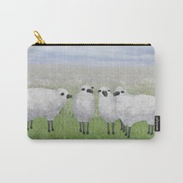 sheep in a field Carry-All Pouch