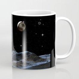 Walking on the Moon - Dark Art Coffee Mug