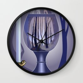 Chalice Fantasy Wall Clock