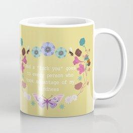 "And a ""eff you"" goes to... Coffee Mug"