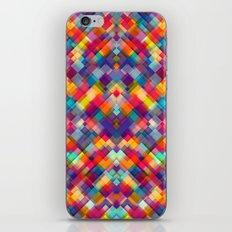 Squares Everywhere iPhone & iPod Skin