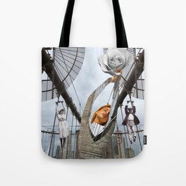 Hold on to your feelings Tote Bag