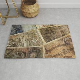 Old German money Rug