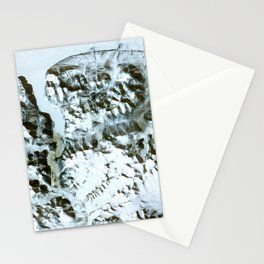 The northernmost land in the world is located in Pearyland Greenland Stationery Cards