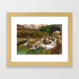 Lakeland Stream Framed Art Print