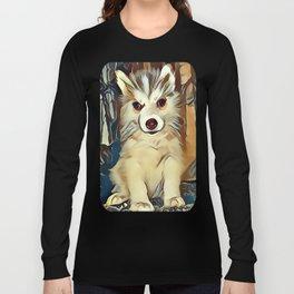 Siberian Husky Puppy Long Sleeve T-shirt