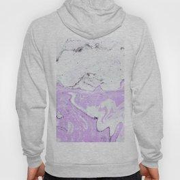 Purple Pastel Marble Hoody