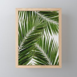 Palm Leaf III Framed Mini Art Print