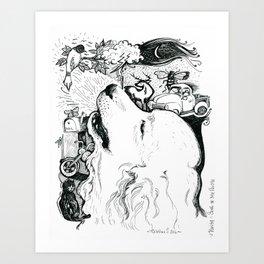 Song of My People - Inktober #2 Art Print