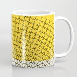 Sunflower Geometric Pattern Coffee Mug