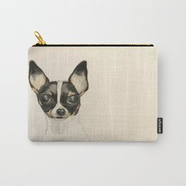 Chihuahua - the tiny dog Carry-All Pouch