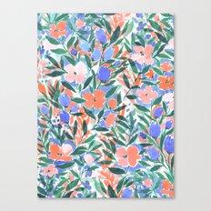 Nonchalant Coral Canvas Print