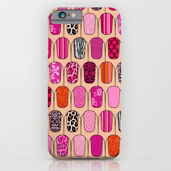 Nails iPhone & iPod Case
