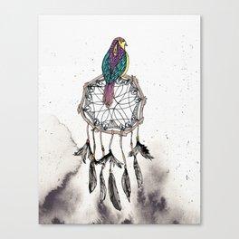 Birdie Dreams Canvas Print