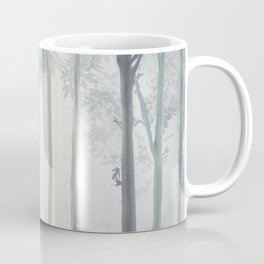 Frozen Fog in the Forest Coffee Mug