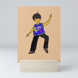 Hero boy Mini Art Print