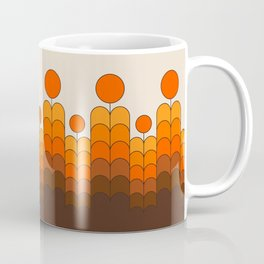 Golden Blooms Coffee Mug