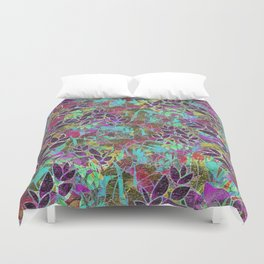 Grunge Art Floral Abstract G124 Duvet Cover