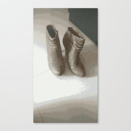 These boots were made for walking Canvas Print
