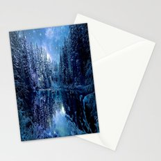 Magical Wintry Forest Stationery Cards