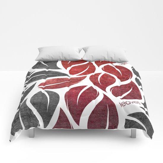 falling leaves IX Comforters