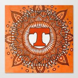 Vols Mandala Canvas Print
