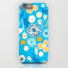 swedish summer blue Slim Case iPhone 6s