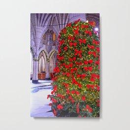 Christmas at the Parliament Metal Print