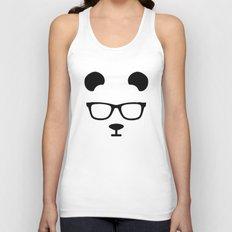 Nerd Panda Unisex Tank Top