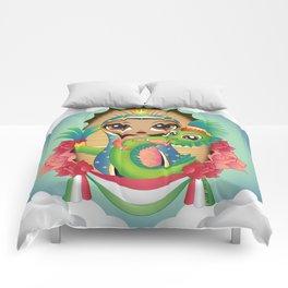 Gods of Mexico Comforters