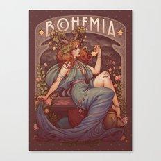 BOHEMIA Canvas Print