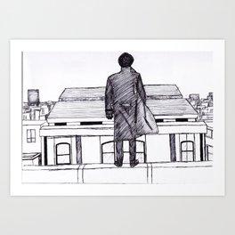 Reichenbach Fineliner Sketch Art Print