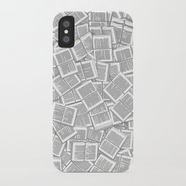 Literary Overload iPhone Case