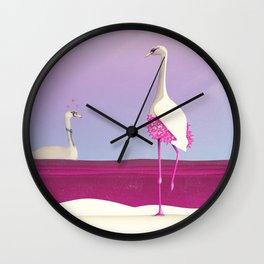 Flamingo Fatale Wall Clock