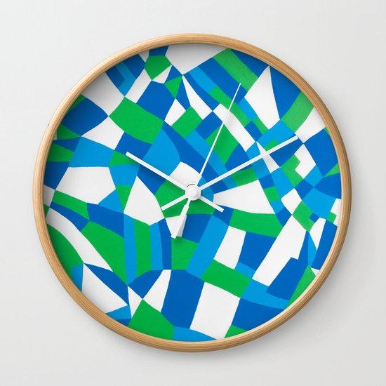 London Green Wall Clock