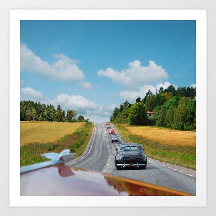 The Ultimate Custom Cars Roadtrip Art Print