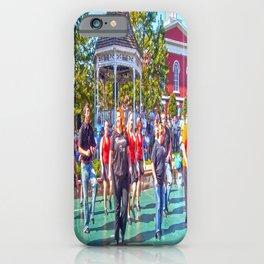 Home Town Fun iPhone Case