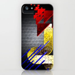 The Primary Colors iPhone Case