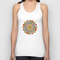 manchester Tank Tops featuring Manchester Mandala by Patricia Shea Designs