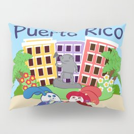 Ernest & Coraline | I love Puerto Rico Pillow Sham