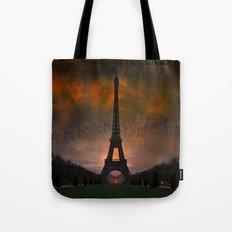 Bonsoir Paris Tote Bag