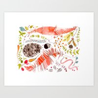 WASHED OUT OF OUR BONES Art Print